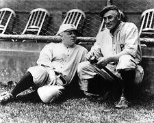 New York Giants JOHN MCGRAW & Pittsburgh Pirates HONUS WAGNER Glossy 8x10 Photo