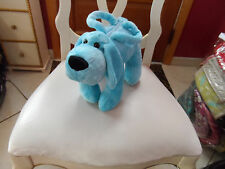 Teal blue Puppy handbag from Teddy Bear Stuffers