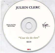 JULIEN CLERC - rare CD Single - France - Acetate