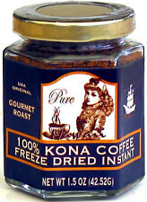 MULVADI 100% KONA COFFEE ~ FREEZE DRIED INSTANT 1.5 OZ