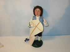 Byers Choice Retired 2000 Williamsburg Exclusive Boy with Kite and Original Tag