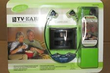 TV EARS Wireless Noise Reduction Headset 2.3 MHz Hard Of Hearing Aid Device NEW