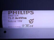 1x PHILIPS MASTER TL-D ActiViva Natural 18w Acti Viva CE 59 60 cm Lampe T8 Tube