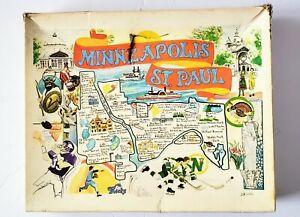Vintage 1978 Minneapolis St. Paul Great American Puzzle Factory Vikings Kicks