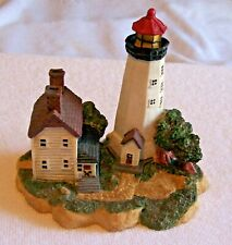 "Unknown Lighthouse Figurine, 4.5 "" Tall 5 "" Wide. American Heritage Collection"