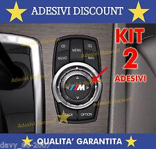 2 ADESIVI BMW ALPINA X1 X3 X5 GT iDrive M1 M3 M5 M6 E36 E39 E46 E63 E90 M Sport