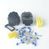 1 set 10 Pin Way Waterproof Wire Connector Plug Car Auto Sealed Electrical