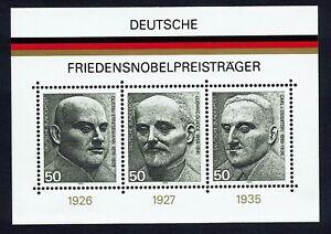 Scott # 1203 - SG # MS1767 -1975 - Mini Sheet - Nobel Prize Winners - MNH