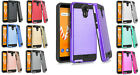 Tempered Glass + Metallic Hybrid Cover Phone Case For Wiko Life 2 u307as