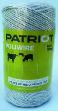 Patriot 809759 Poliwire 660 Ft Roll | Electric Fence Wire | Polywire Poly Wire