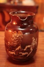 Royal Doulton Lambeth Pitcher with Hunting Scene