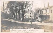 HATTERTOWN HISTORIC DISTRICT, NEWTOWN, CT ~ STORE ~SHERMAN PHOTO CARD ~ u. 1907