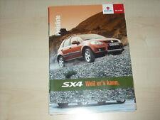44395) Suzuki SX4 Prospekt 04/2006