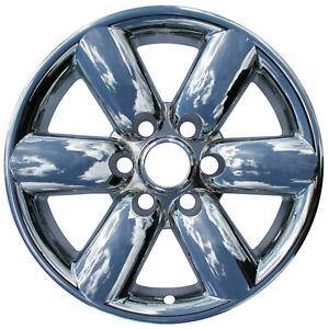 """New Set of 4 18"""" Chrome Wheel Skins for 2008-14 Nissan Titan & Armada 18"""" Wheels"""