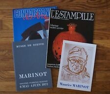 MAURICE MARINOT -  ENSEMBLE D'OUVRAGES