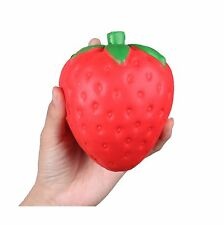 "Anboor 4.7"" Jumbo Slow Rising Kawaii Strawberry Squishy 1pc Col... Free Shipping"