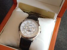 Bernex Day/Date Moonphase Quartz Swiss Ronda Movement Watch