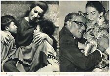 D- Coupure de presse Clipping 1959 (2 pages) Maria Callas recompose groupe Médée