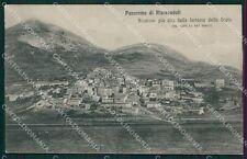 L'Aquila Rivisondoli Stazione PIEGA cartolina XB0177