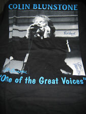 COLIN BLUNSTONE SIGNED BY ROD ARGENT AND COLIN BLUNSTONE  BAND T-SHIRT L NEW