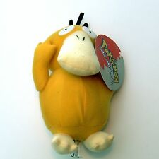 PSYDUCK PLUSH Official Play by Play Vintage 2000 Pokemon Soft Toy Tagged NEW