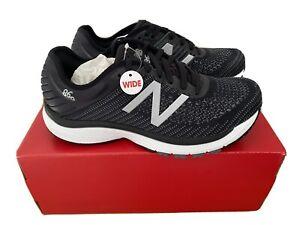 New Balance 860v10 (W860K10) Women's Black Running Shoe Size 8.5 2E (X-wide)