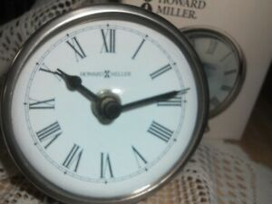 Howard Miller 645-508 Maximus Table Clock Magnifying Glass Crystal NEW