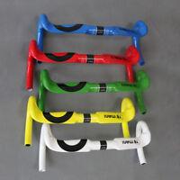 Full Carbon Road Bicycle Handlebar Cycling Racing Road Bike Bent Drop Bar 31.8mm