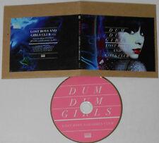 Dum Dum Girls - Lost Boys And Girls Club - Sub Pop Promo CD Single