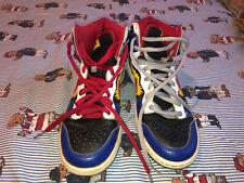 2009 Nike SB Dunk High Pro Shoe COMIC BOOM SIZE 8 Red Blue 305050-064