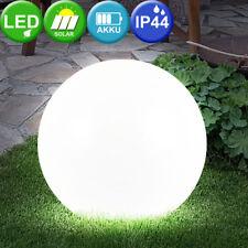 30 cm Solar LED Gartenleuchte Gartenlampe Design Kugelleuchte modern Living-XXL