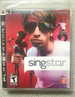 SingStar PS3  (sony playstation3) new sealed NEED MICS TO PLAY/NO MICS INCLUDED