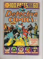 Detective Comics #443 BATMAN! DEATH MANHUNTER! 100 PAGE SUPER-SPECTACULAR VG/F 5
