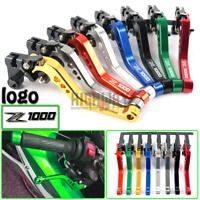 CNC Aluminum Adjustable Clutch Brake Levers For Kawasaki Z1000SX /NINJA 1000/17