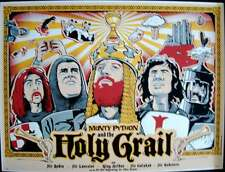 Monty Python And The Holy Grail Limited Edition print #100 R2012
