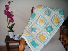 Hand Crocheted Throw/Blanket Ref 235