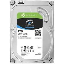 """2tb disco rigido Seagate skyhaw st2000vx008 3,5"""" 6 GB/s SATA DVR funzionamento continuo"""