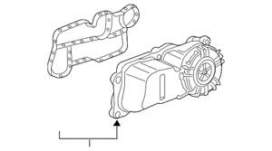 Genuine GM Oil/Air Separator 55509669