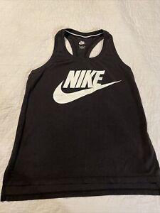 Nike womens tank top black size Medium