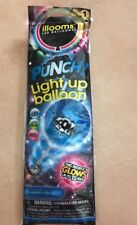 illooms Led Light Up PUNCH! Balloon ~ 1 BLUE Balloon 15 Hours Of Light (F)