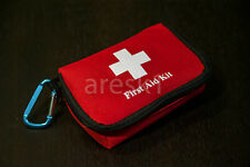 First Aid Kit, 45pcs Small Red Pouch, Compact, great for students.