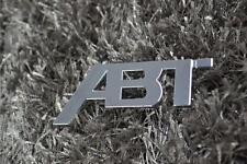 Für Volkswagen VW Emblem ABT Tefit Aluminum Car Badge Auto Metal 3D Logo Sticker