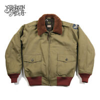 Bronson USAAF B-10 Flight Jacket 1943 Model Men's Intermediate Flying Coat B10