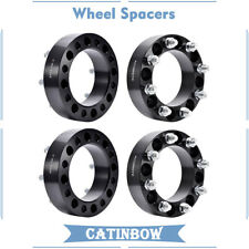 "4x 2"" 8 Lug Wheel Spacers 8x6.5 9/16"" Studs Fit 1975-14 Ford Dodge Ram 2500 3500"