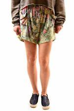 Wildfox Women's Relaxed Fit Stampa Floreale Pantaloncini Multi Color Taglia S Prezzo Consigliato £ 85 BCF73