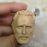 Blank Hot 1/6 Scale Head Sculpt Andrew Lincoln The Walking Dead Rick Grimes