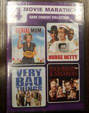 4 Movie Marathon: Dark Comedy Collection (DVD) NEW