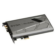 EVGA Nu Audio Card by Audio Note Lifelike Audio, PCIe RGB LED Computer Soundcard