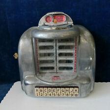 Seeburg 3W1 Wallbox Jukebox Silver Pages #2