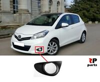 FOR TOYOTA YARIS 2011 - 2014 NEW FRONT BUMPER FOGLIGHT GRILLE LEFT N/S